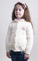 Детская кофта для девочки теплая