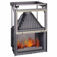 Pig-iron fire chamber of 800 Grande Vision lifting