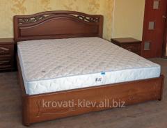 """Двуспальная деревянная кровать """"Марго"""" в"""