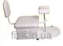 Chair support mobile for pedicure