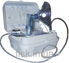Inhaler compressor for aerosol therapy of Flaem