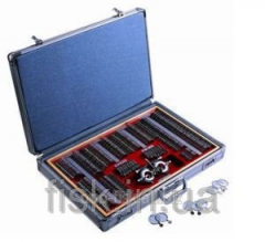 Sets of ophthalmologic trial eyeglass lenses 266