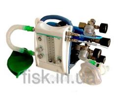 Аппарат ингаляционного наркоза газовой смесью кислорода и закисью азота портативный АНпСП-01-ТМТ