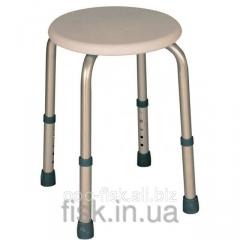 Aluminum chair for a bathtub