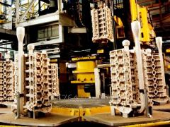 Moulding lines for foundry engineering