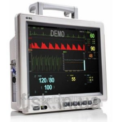 Anesteziologichesky monitor of the patient of
