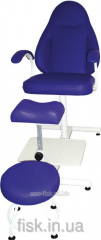 Pedicure chair of KP-2 with an adjustable suppor