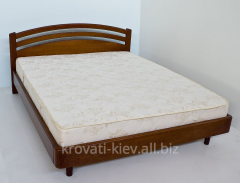 "Double wooden bed of ""Natali"""
