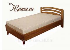 """Односпальная кровать """"Натали"""" из массива"""