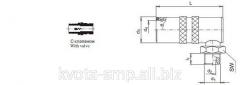 Муфта быстросъемная с клапаном CSK EG90