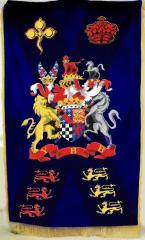 Flag, standard - an embroidery. Goods from the