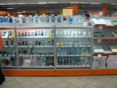 Торговые стойки и витрины для мобильных и сотовых