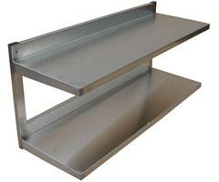 Shelf hinged 2nd-level