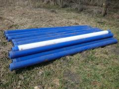 Plastic pipes for wells