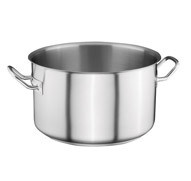 Pan professional from stainless steel on 16 l of
