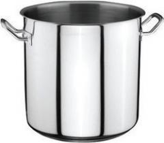 Pan professional from stainless steel on 35 l of