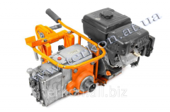 Machine rail-drilling STR2D internal combustion