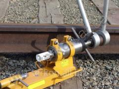 Rail-drilling manual device RSU-36p