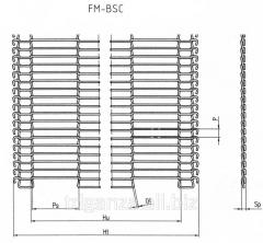 Металлическая конвейерная сетка глазировочная