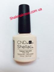 Shellac CND gel varnish Bare Chemise color of 7,3