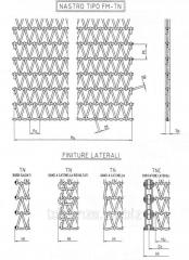 Металлическая сетка для конвейера особого типа