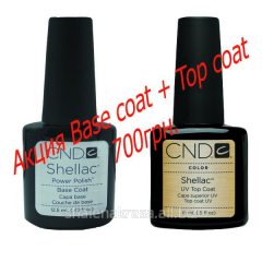 Fixer of 15 ml + Basis of 12 5 ml CND Shellac