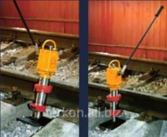 Jack hydraulic traveling DGP 10-200