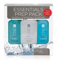 Set gift CND Essentials Prep Pack for manicure and