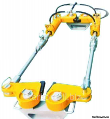Device hydraulic tension PGNR-100 rail