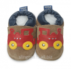House-shoes for the boy of Shooshoos BSS25 Sand