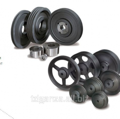 Wedge pulley of SPA