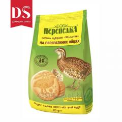 """Dairy on Quail Eggs"""" cookies of 150 g"""