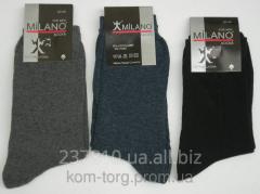 Man's Milano's sock streych