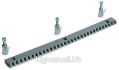 Toothed rail