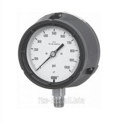 Tube spring manometer (a safe series with the body