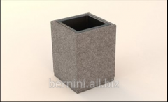 Ballot box concrete.