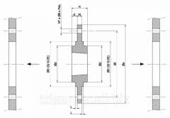 Сварная ступница MCT2517340 на болтах с отверстием