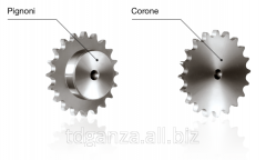 Corone asterisk for conveyor chains