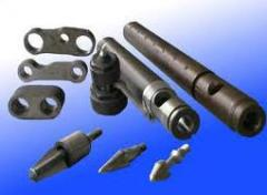 The equipment for production of products from
