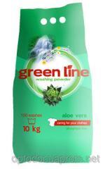 Cтиральный порошок Green Line aloe vera алое 100
