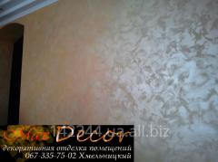 Decorative plaster Khmelnytskyi