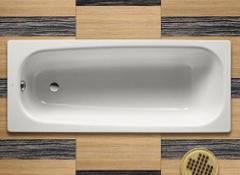 Bathtub of steel rectangular 1,7х0,7 Roca