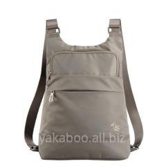 Сумка-рюкзак для ноутбука песочного цвета 10