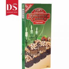 """Шоколадно-вафельный торт """"Ореховый"""""""