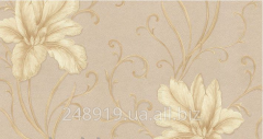 Wall-paper of a hot stamping of Iris decor