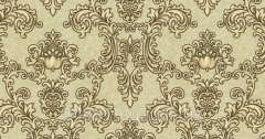 Wall-paper of a hot stamping Hermitage decor