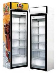 Cases refrigerating with a glass door of Torino