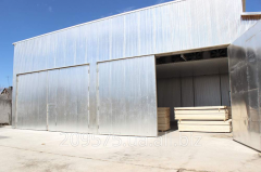 Drying chambers for wood drying