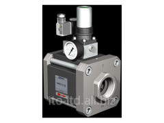 The valve with HPB-S 32 pneumatic actuator