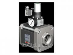 The valve with HPB-H 32 pneumatic actuator